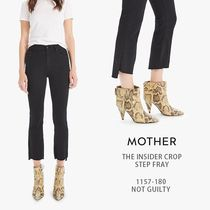 MOTHER|THE INSIDER CROP STEP FRAY 1157-180