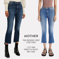 MOTHER|THE INSIDER CROP STEP FRAY 1157-686