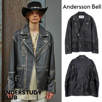 【ANDERSSON BELL】3-7日お届け / OVERSIZED LEATHER JACKET