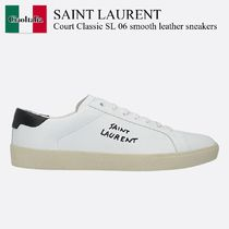 Saint Laurent Court Classic SL 06 smooth leather sneakers