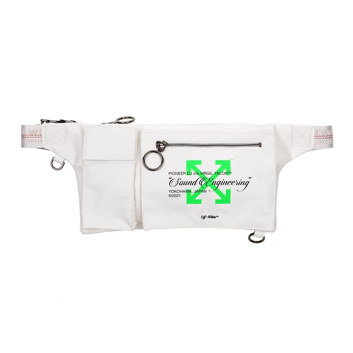 【OFF-WHITE】Pioneer DJ Off-WhiteTM SE_POCKETS FANNYPACK 1 (Off-White/ショルダーバッグ) 71547483