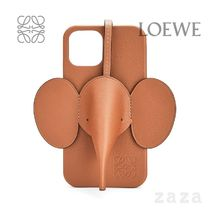 LOEWE★ロエベ Elephant phone cover in calfskin for iPhone 12