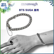 ★ONE ENOUGH★SUGA 着用/Surgical Steel Basic Chain Bracelet