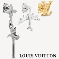 【LV】21AW LV COMICS EARRINGS silver&gold MP3161 ピアス