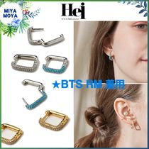 Hei(ヘイ) ピアス ★Hei★BTS着用 stone one touch earring ★