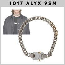 【1017 ALYX 9SM】カーブ チェーンネックレス