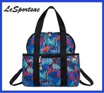 ★★Night Garden★★ LeSportsac Double Trouble Backpack