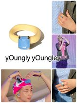 【yOungly yOungley】Foi ring  BONNIE BLUE【即発送!】