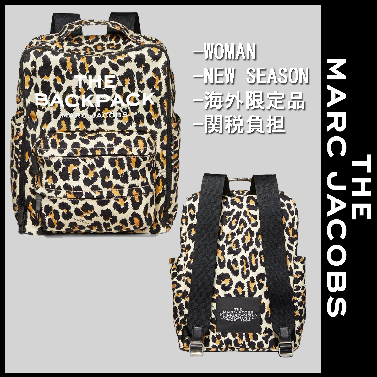 WOMAN★【海外限定品】★MARC JACOBS★COTTON BACKPACK (MARC JACOBS/バックパック・リュック) 71588337