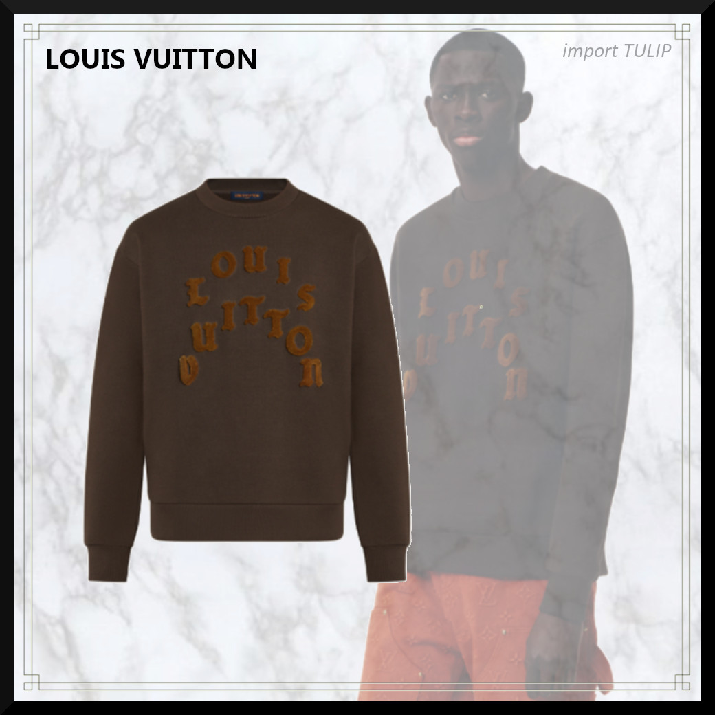 21FW【直営買付】新作★LOUIS VUITTONタフタージュクルーネック (Louis Vuitton/Tシャツ・カットソー)  1A977H   1A977I   1A977J