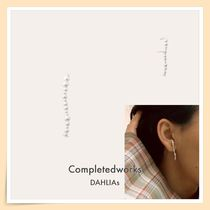 【Completedworks】DREAMS OF A BUTTERFLY パールラインピアス