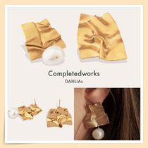 【Completedworks】COHESION アシンメトリー ゴールドピアス**