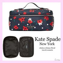 kate spade new york(ケイトスペード) メイクポーチ 【 国内発送】chelsea whimsy floral travel cosmetic