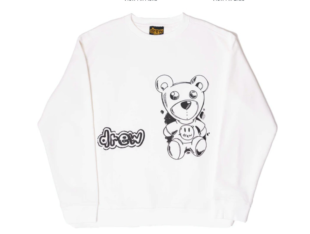 21 SS drew house theordore sketch crewneck off-white (drew house/Tシャツ・カットソー) 71611885