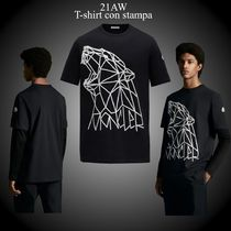 21AW★新作★MONCLER★T-shirt con stampa コットン Tシャツ