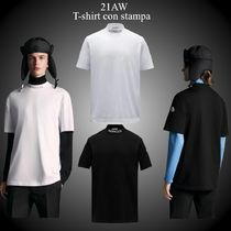 21AW★新作★MONCLER★T-shirt con stampa gommata Tシャツ