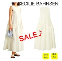 SALE【税・送込】CECILIE BAHNSEN★シルク混ワンピースドレス