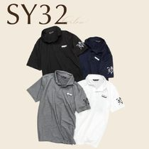 SY32 ゴルフ ポロシャツ トップス ロゴ 男 直営店買付 関税込み