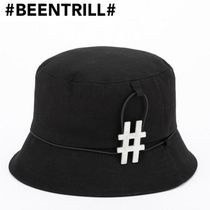 【Been Trill】メタル ビッグ ハッシュタグロゴ バケットハット