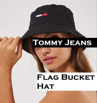 AUS発!【TOMMY JEANS】トミーフラッグ★Flag Bucket Hat 4色