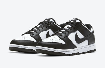 """Nike キッズスニーカー 国内発送★NIKE PS DUNK LOW """"WHITE/BLACK"""""""
