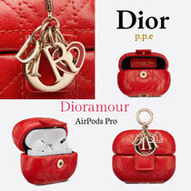 """""""Dioramour"""" LADY DIOR *AIRPODS PROケース* ブライトレッド"""