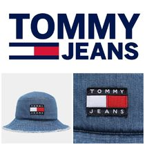 TOMMY JEANS Heritage Distressed Denim Bucket Hat  トミー