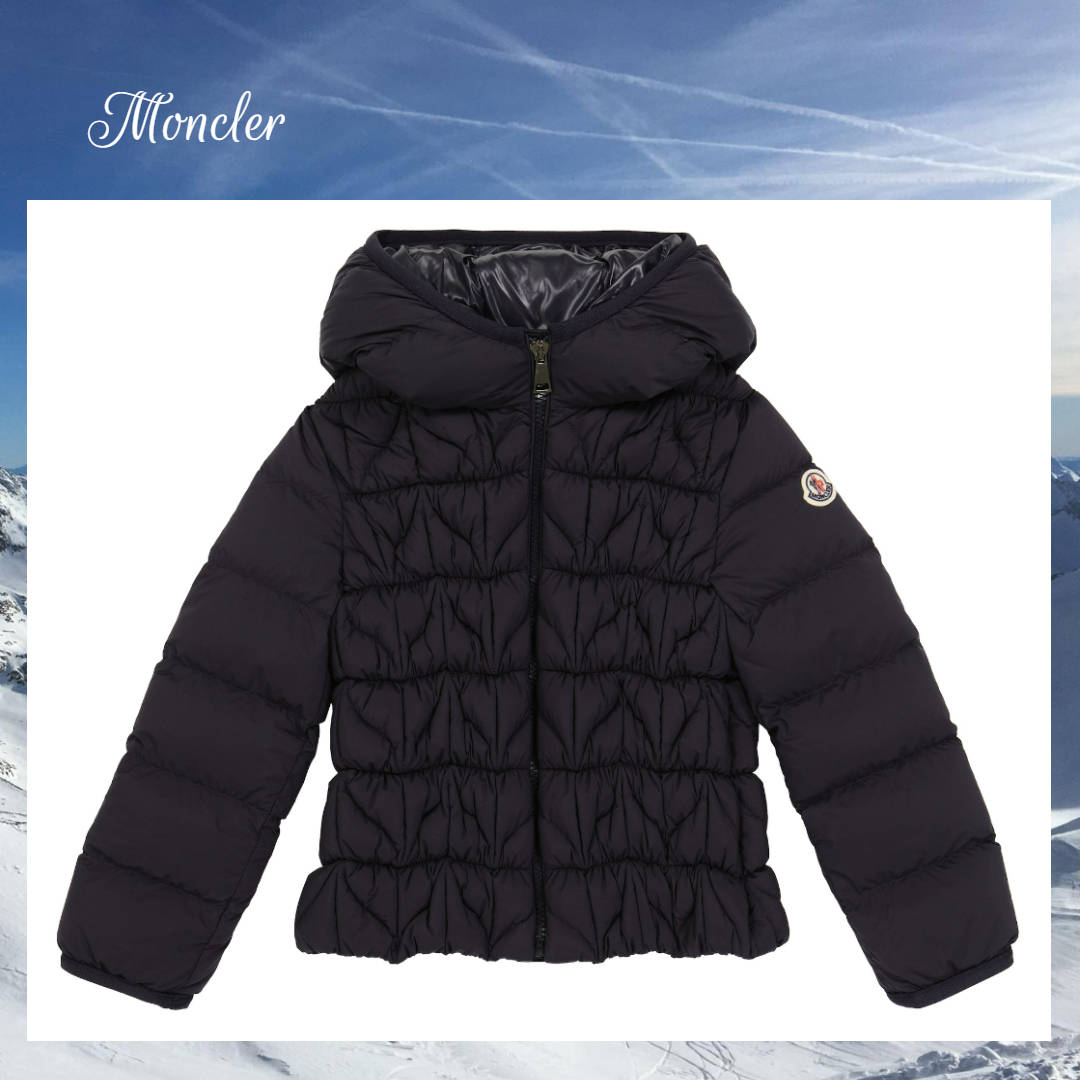 ☆MONCLER☆ グラフィックキルティングダウン Laurette☆ 4A-10A (MONCLER/キッズアウター) 71644400