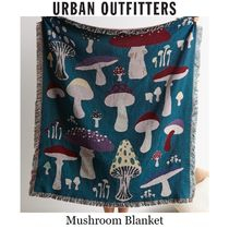 ★Urban Outfitters★キノコ柄織物ブランケット127×152cm