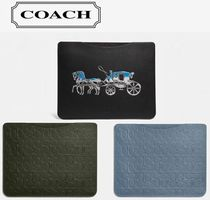 [ COACH ] Tablet Sleeve in Signature / Horse And Carriage