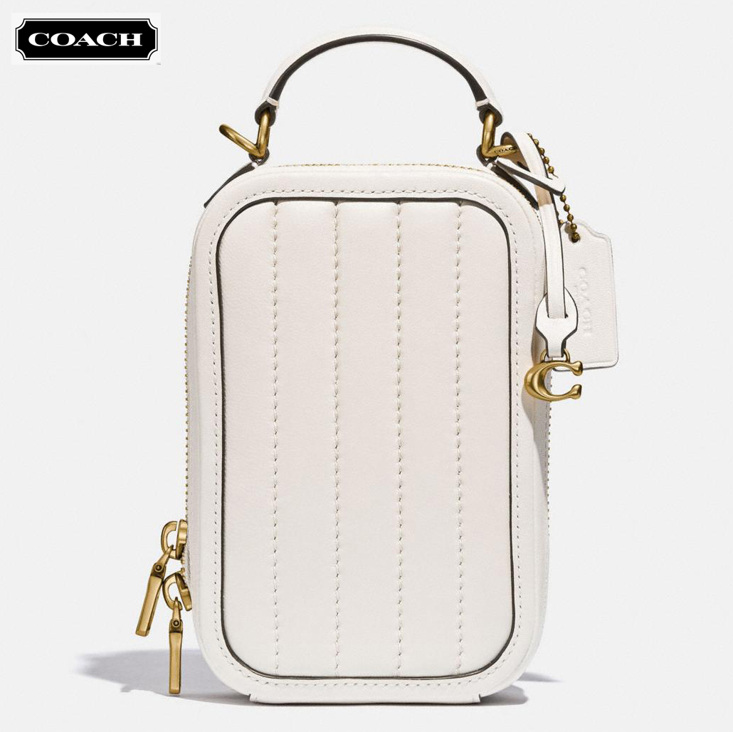 COACH ★ Alie Camera Bag Quilting  バッグ (追跡付け) 4875 (Coach/ショルダーバッグ・ポシェット) 71670989
