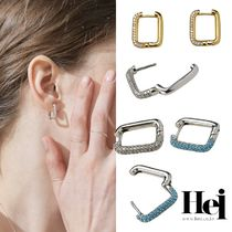 ●Hei● stone one touch earring ★BTS RM 着用★ ピアス
