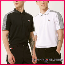 Tommy Hilfiger(トミーヒルフィガー) メンズ・トップス TOMMY HILFIGER GOLF★ボーダーパネルポロシャツ 2色展開