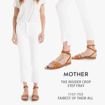 MOTHER|THE INSIDER CROP STEP FRAY 1157-753