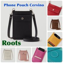 Roots*新 斜め掛け スマホ レザー ポーチ Phone Pouch Cervino