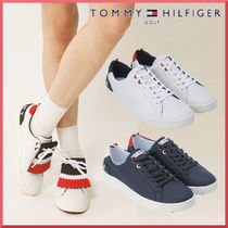 TOMMY HILFIGER GOLF★スパイクリスローカットシューズ 2色展開