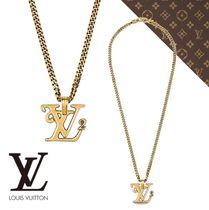21AW【ルイヴィトン】COLLIER DORE SQUARED LV ネックレス