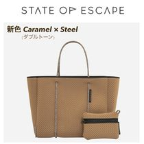 ◆State of Escape◆ 新色Caramel Steel フライングソロトート