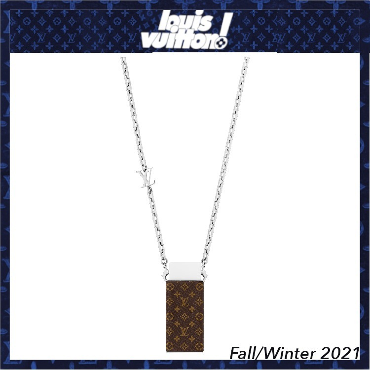 21FW【ルイヴィトン】Collana LV Eraser (Louis Vuitton/ネックレス・チョーカー) MP3152