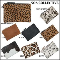 [NOA COLLECTIVE ]* Large Pouch * ハラコ ポーチ