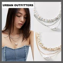 *URBAN OUTFITTERS*パール レイヤー ネックレス