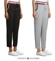 【Tommy Hilfiger】Cropped Pants コットン スウェット パンツ