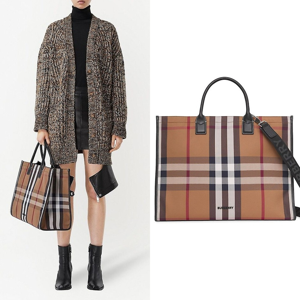 [Burberry]トートバッグ 8041894 ML DENNY A8773 (Burberry/トートバッグ) 71760906