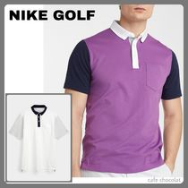 【NIKE GOLF】Player colour block structured ゴルフポロシャツ