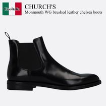Church's(チャーチ) ショートブーツ・ブーティ Church'S Monmouth WG brushed leather chelsea boots