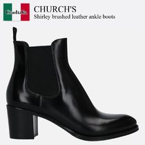 Church's(チャーチ) ショートブーツ・ブーティ Church'S Shirley brushed leather ankle boots