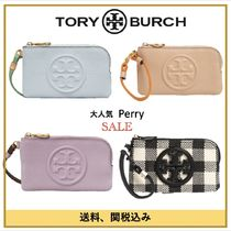SALE【Tory Burch】Perry Colorblock Leather Card Case