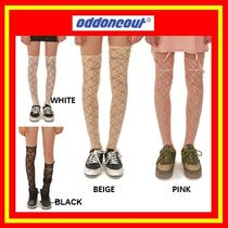 [ODD ONE OUT] oddoneout lace knee socks/4色/追跡付