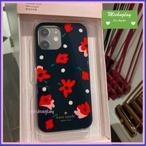 【kate spade】上品なお花柄♪whimsy floral iPhone 12 各対応★