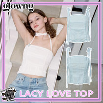 【GLOWNY(Spooning)】LACY LOVE TOP